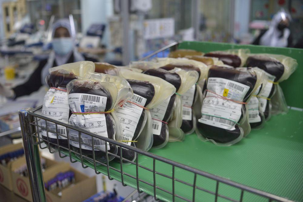 诺希山认为,捐血量下降主要是社会担心捐血过程的安全及主办单位取消捐血运动。-Miera Zulyana摄-