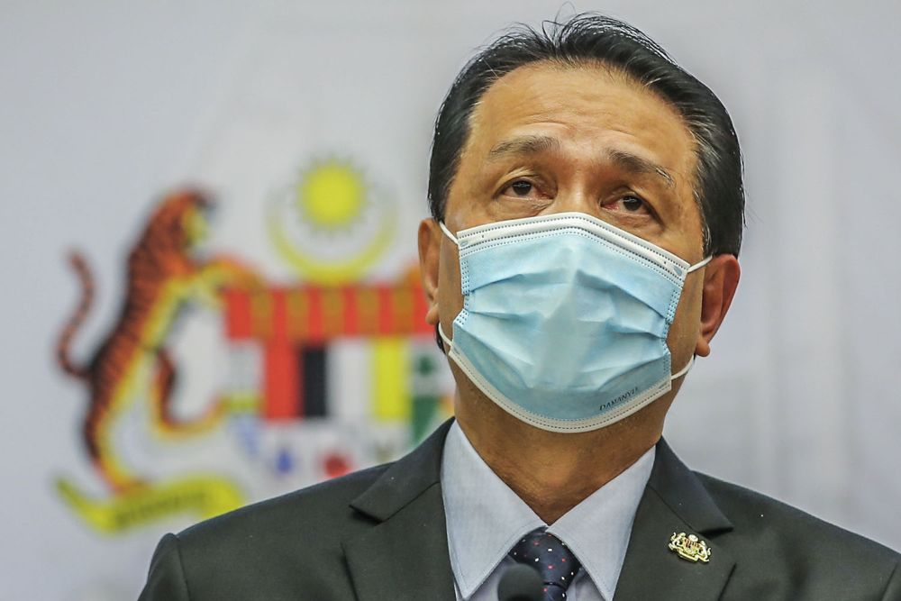 Early testing' or 'Ujian Saringan' was mentioned many times by the Health D-G, in order to identify those who might have been exposed to the virus but did not show any symptoms. — Picture by Hari Anggara