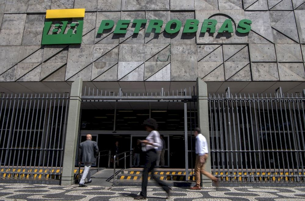 The company's ordinary shares closed up nine per cent, while preferential shares gained back 12.2 per cent on the Sao Paulo stock exchange. — AFP pic