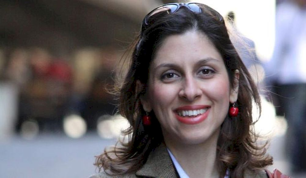 Iranian-British aid worker Nazanin Zaghari Ratcliffe is seen in an undated