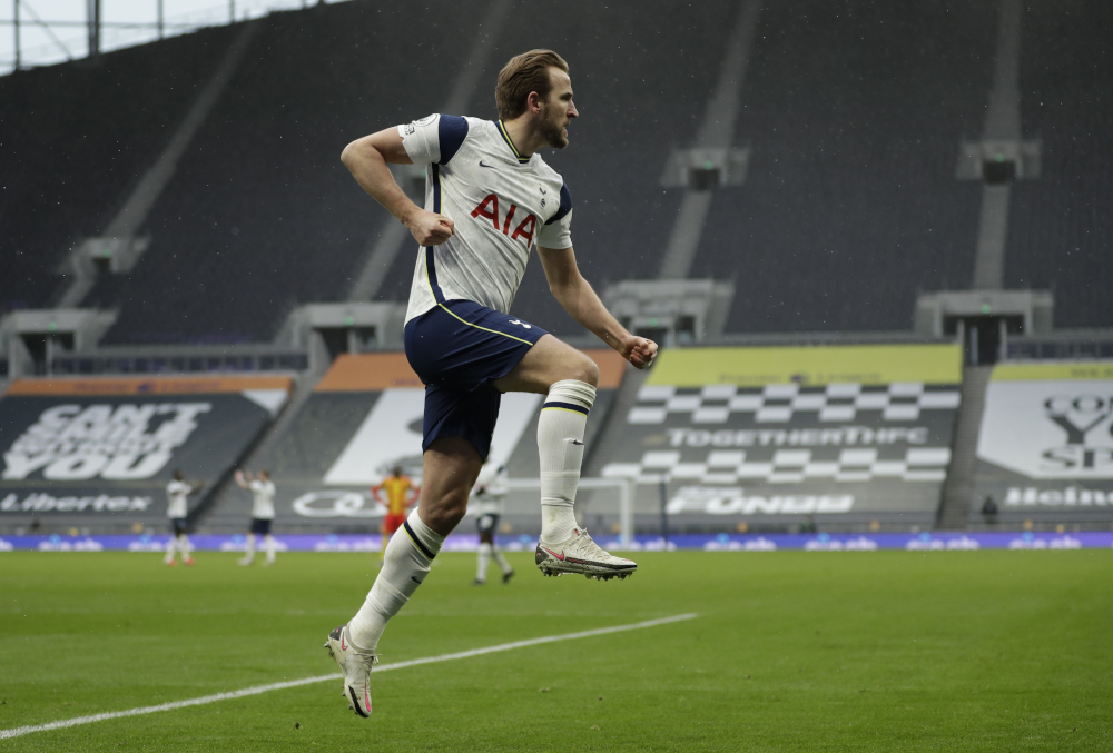 England captain Harry Kane was due back at Tottenham's training headquarters for a coronavirus test and a fitness assessment following his three-week holiday after Euro 2020. — Reuters pic
