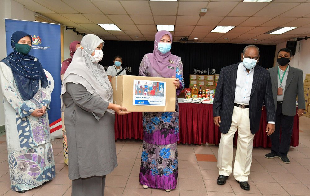The ministry said it had received over 300,000 applications for aid as of today. — Bernama pic