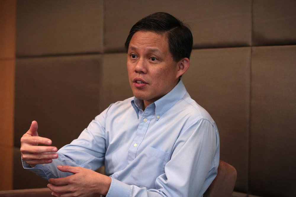 Singapore's Trade and Industry Minister Chan Chun Sing said that government help would become more targeted and would be aimed at helping businesses build capabilities and seize new opportunities. — TODAY pic