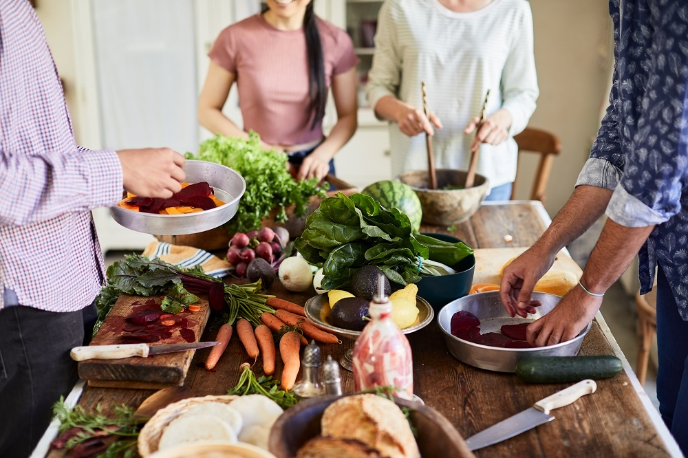 Forget olive oil, fragrant herbs and stuffed vegetables, the Mediterranean diet could soon be overtaken by the vegan diet. ― Getty Images via ETX Studio