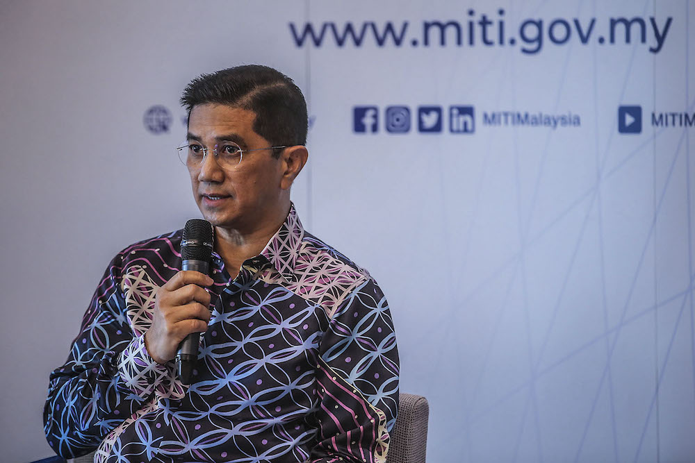 Senior Minister cum International Trade and Industry Minister Datuk Seri Mohamed Azmin Ali said the outcomes on this front will also reflect Malaysia's commitment in facilitating investors, enhancing efficiency and improving the ease of doing business. — Photo by Hari Anggara