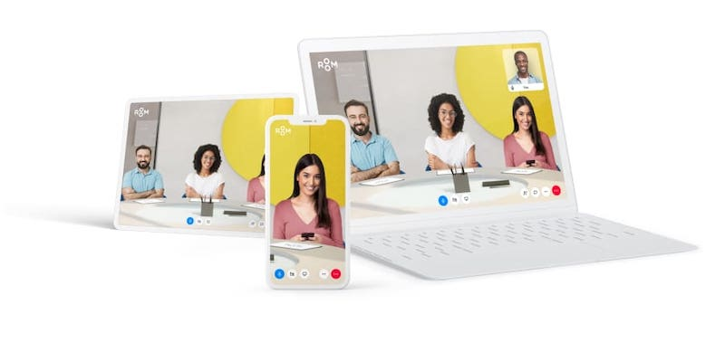 ROOM is shaking up videoconferencing with a solution that brings people together in virtual rooms. — Picture courtesy of Room