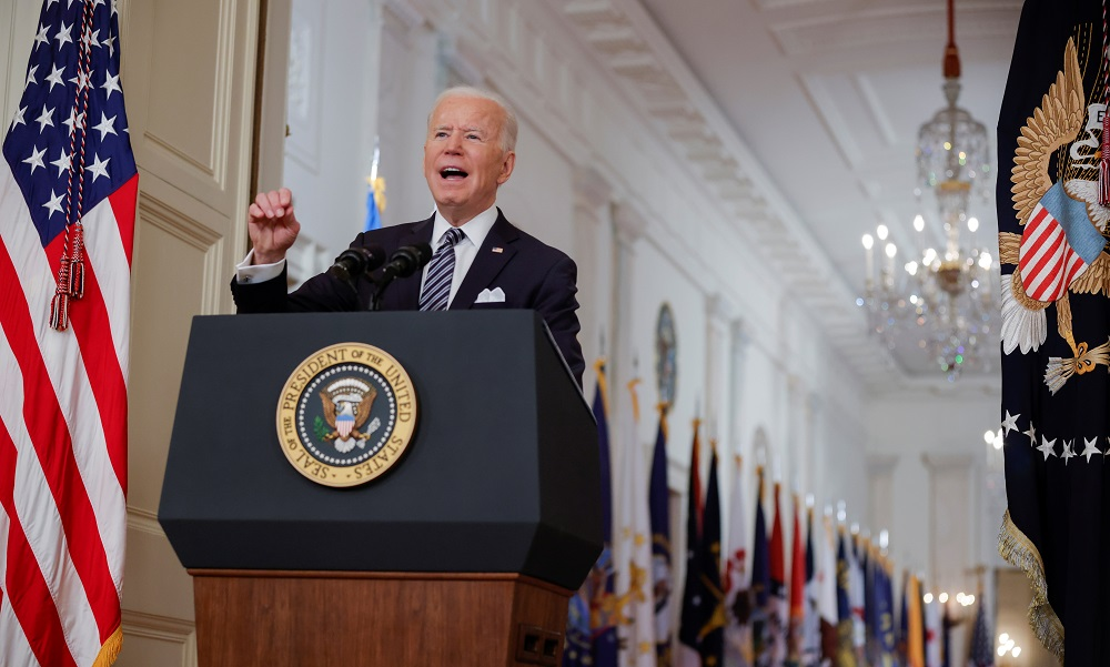 Biden has rolled back some of former President Donald Trump's immigration policies since taking office on January 20 including last month revoking a proclamation that had blocked many immigrant visa applicants from entering the United States. — Reuters pic