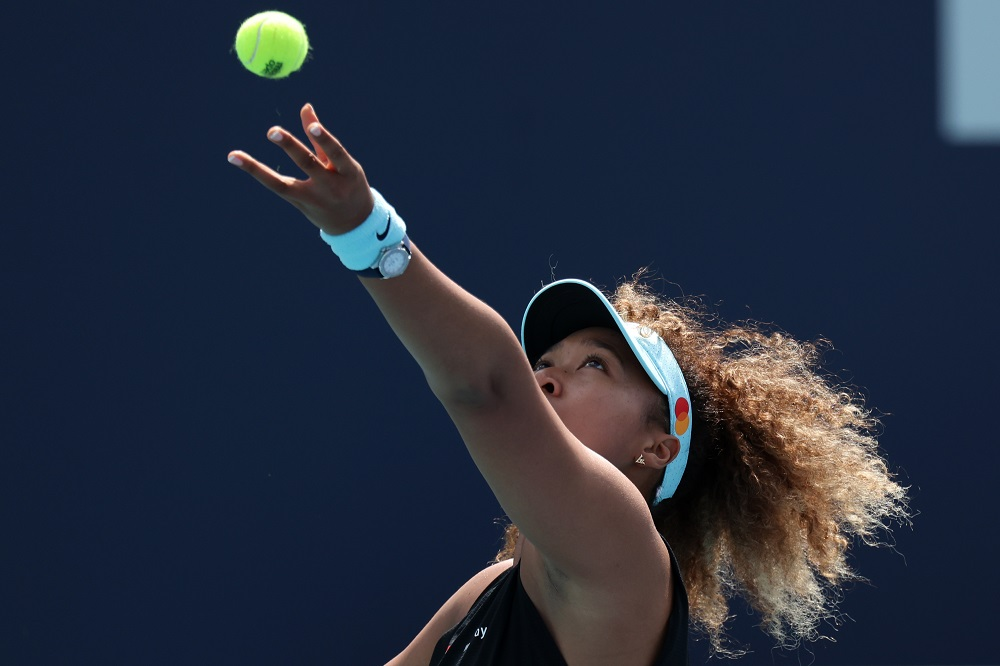 Osaka, the reigning US and Australian Open champion, has seven career hard court titles to her name, but has never managed to lift a clay court trophy. — Picture by Geoff Burke-USA TODAY Sports via Reuters