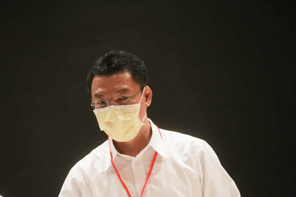 Nga was critical of Mohd Akmal Kamarudin in the latter's role as state health executive councillor. — Picture by Farhan Najib