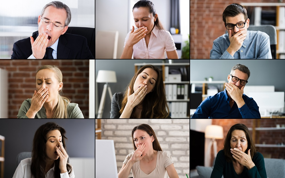 There's now an easy way to duck out of long, boring Zoom meetings thanks to an online tool called Zoom Escaper. — Shutterstock pic via ETX Studio
