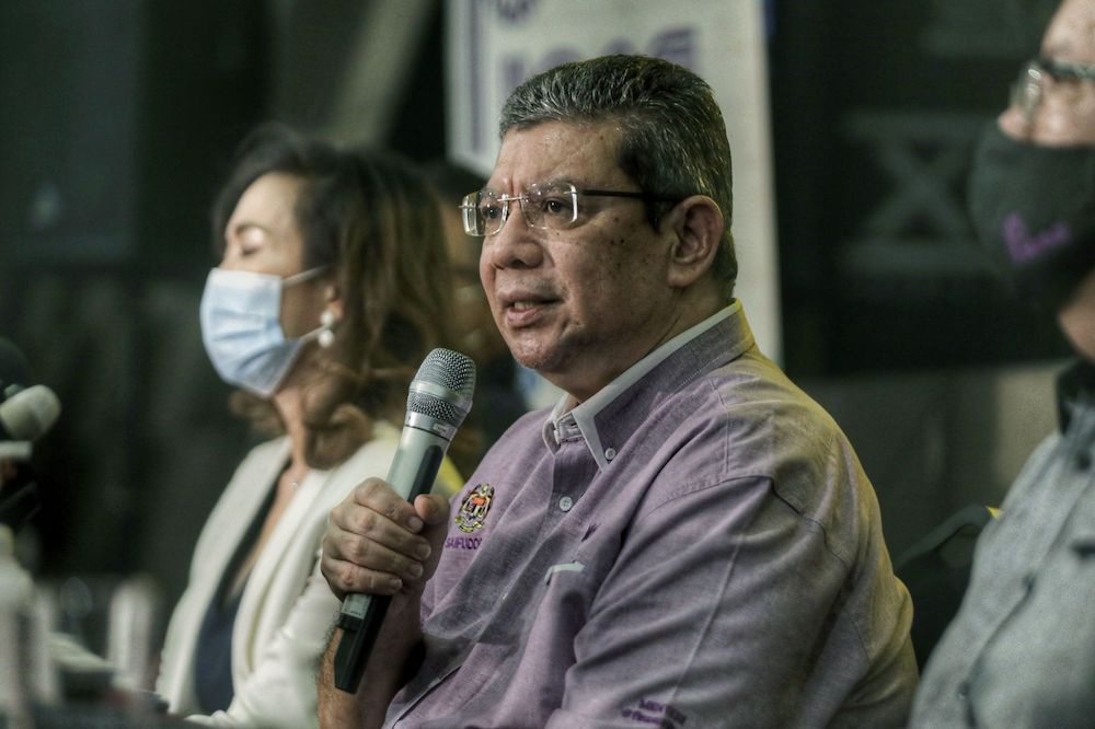 Foreign Minister Datuk Saifuddin Abdullah confirmed his ministry was monitoring the trial and its developments.— Picture by Ahmad Zamzahuri