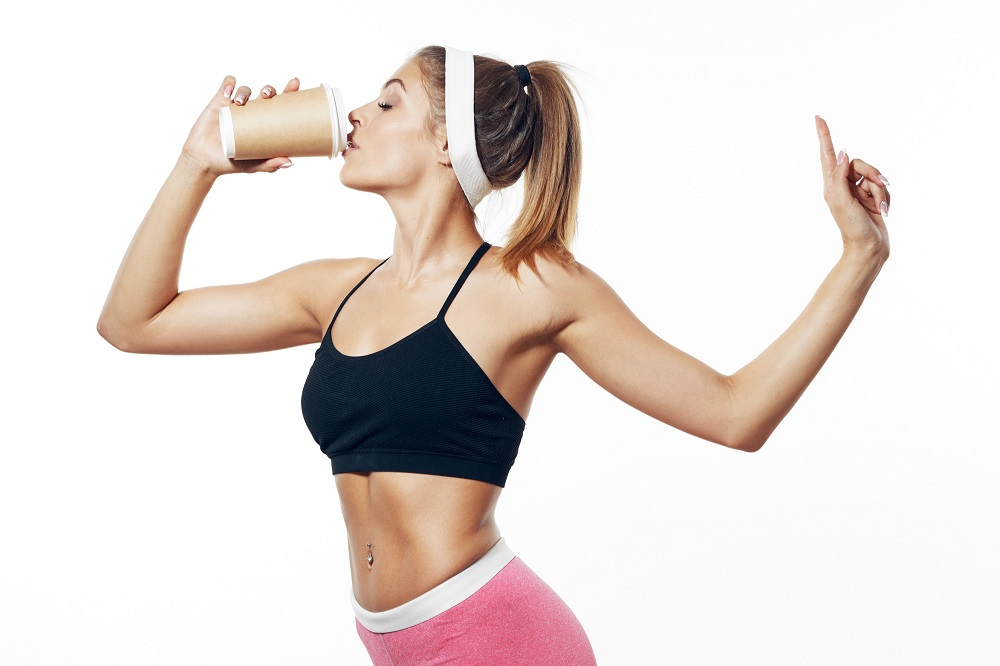Drinking coffee 30 minutes before exercising could increase fat burning. — Shutterstock pic via ETX Studio