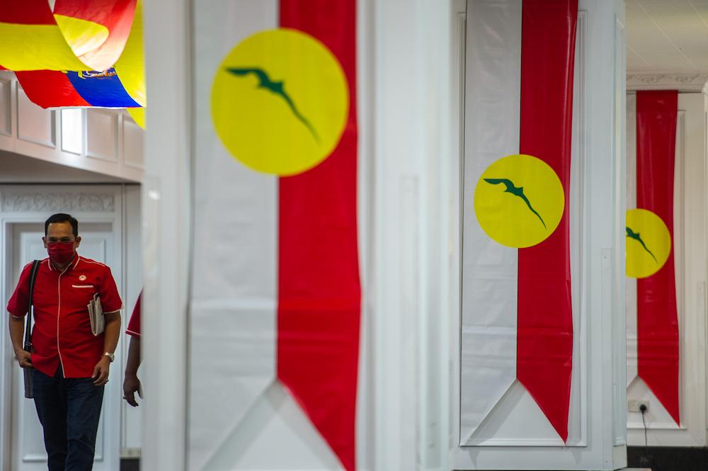 Umno vice president Datuk Seri Ismail Sabri Yaakob said his party will broach the matter with PAS at their next regular Muafakat Nasional meeting. — Picture by Shafwan Zaidon