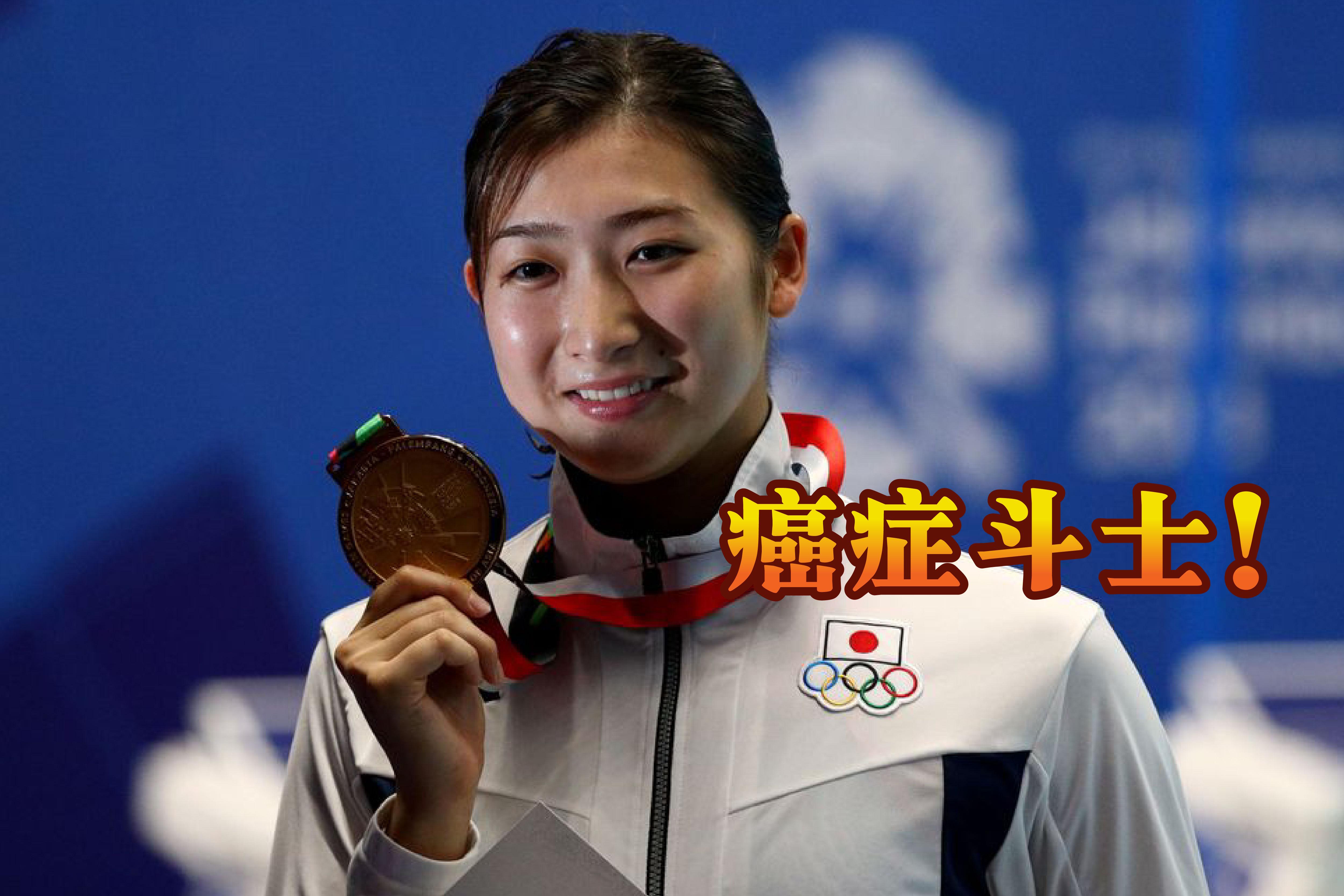战胜血癌并复出参赛的池江璃花子,期待能拿下东京奥运会入场券。-路透社/精彩大马制图-