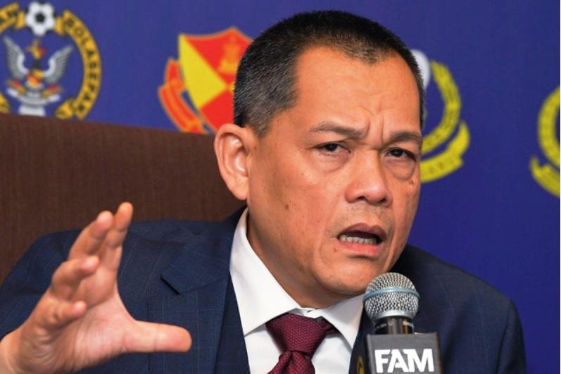 拿督哈米丁周六在大马足总代表大会,无竞选对手的情况下顺利蝉联会长一职。-马新社-
