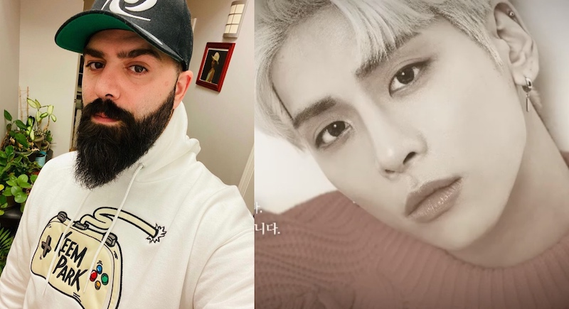 Keemstar claims he had no knowledge of Jonghyun's death while he was working on the song. — Pictures via Instagram/keemstar and Instagram/shinee