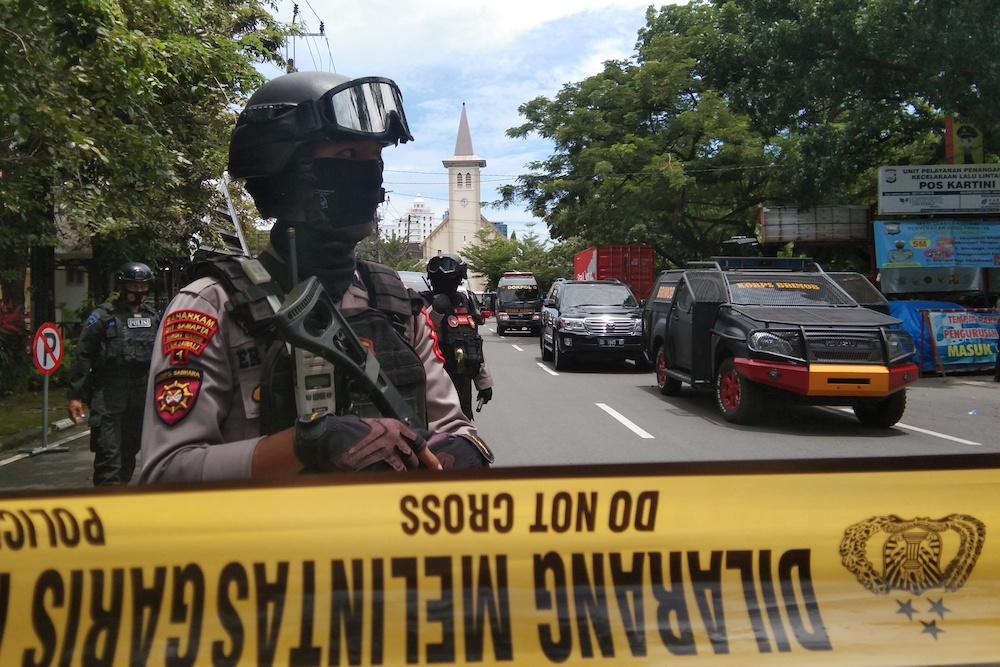Indonesian security forces have killed the leader of militant group East Indonesia Mujahideen. — Antara Foto/Arnas Padda via Reuters