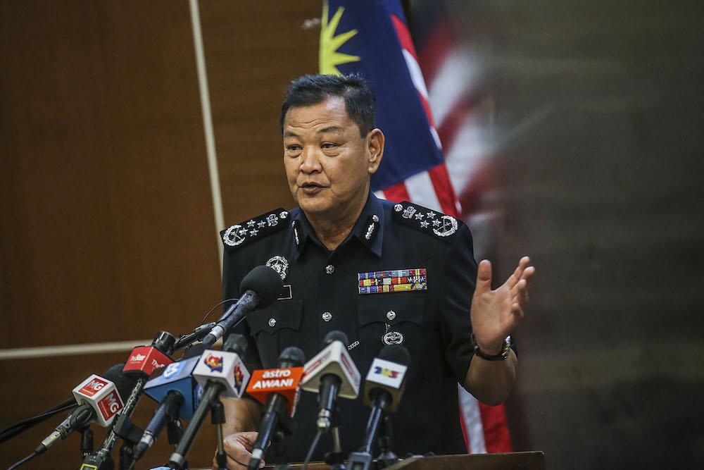 Inspector-General of Police Tan Sri Abdul Hamid Bador said the police would leave it up to the Immigration Department and the Home Ministry (KDN) to decide on whether these individuals should return to North Korea following Pyongyang's decision to end diplomatic relations with Kuala Lumpur. ― Picture by Hari Anggara