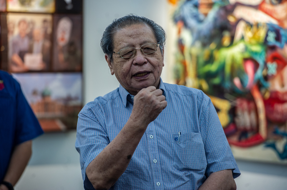 Lim Kit Siang served as DAP secretary-general from 1969 to 1999 before being elected the second chairman of the party after the 1999 general election. — Picture by Shafwan Zaidon