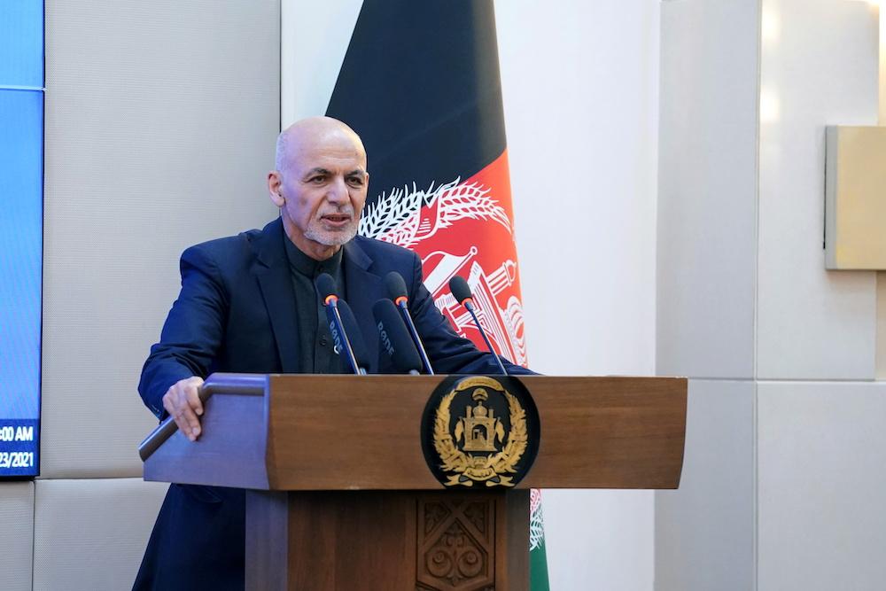 Afghan President Ashraf Ghani Flees Country As Taliban Reach Kabul World Malay Mail