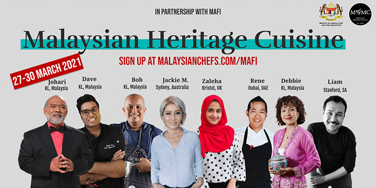 Chefs from all over the world will be cooking via virtual demonstrations. – Picture courtesy of MOMC's Facebook