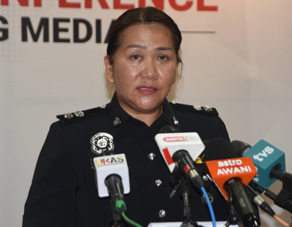 Sarawak Commercial Crime Investigation Department (CCID) chief Supt Maria Rasid said the police received a report on the case on Saturday (July 24). — Picture courtesy of Sarawak Information Department