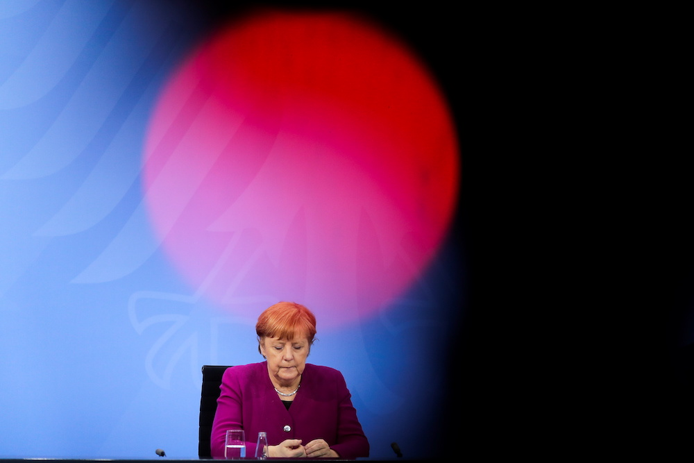 The rivalry for Merkel's successor could hurt the party's chances in the next election. — Reuters pic
