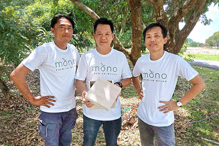 Mono's co-founders include (left to right) Mohd Sofian bin Ali, Yeo Chen Swee and Seh Cheng Siang.