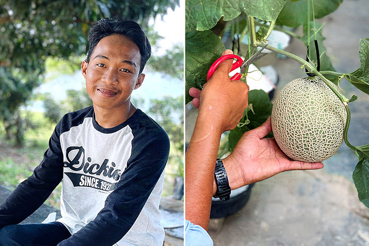 Young farmers such as 19-year-old Jijoy are part of Mono's commitment to employing local growers.