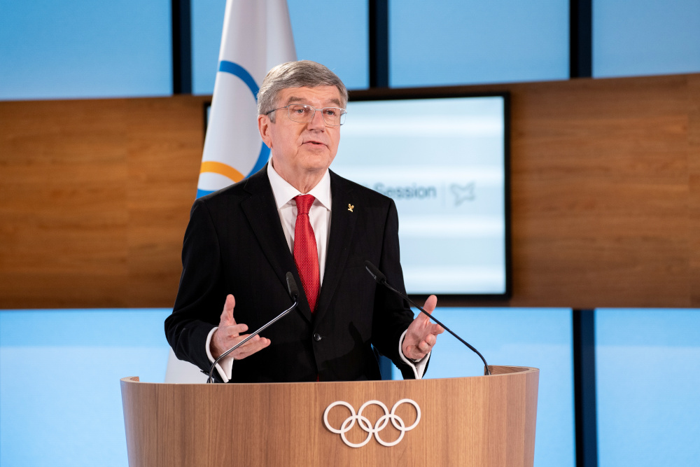 The agreement was welcomed by IOC president Thomas Bach, who has already seen the Tokyo Games postponed from last year because of the pandemic. — Greg Martin/IOC handout pic via Reuters