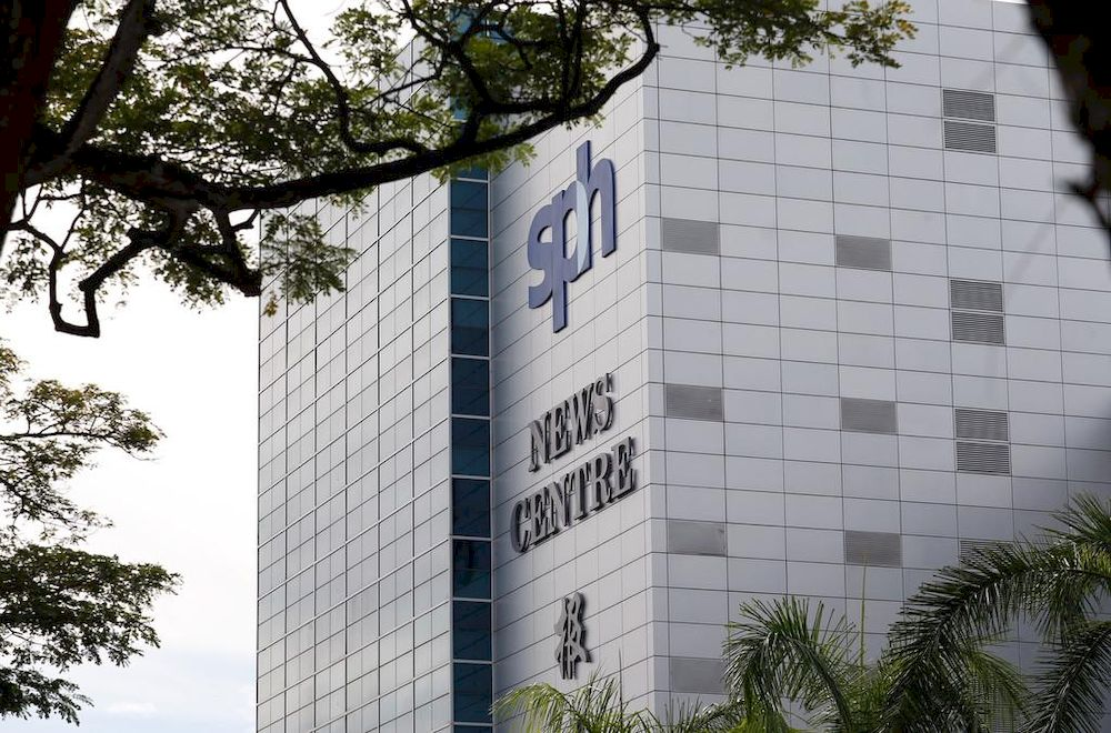 The Singapore Press Holdings reported a 26.1 per cent growth in net profits to S$97.9 million for the first half of its financial year ending Feb 28, 2021, compared with the same period last year. — TODAY pic