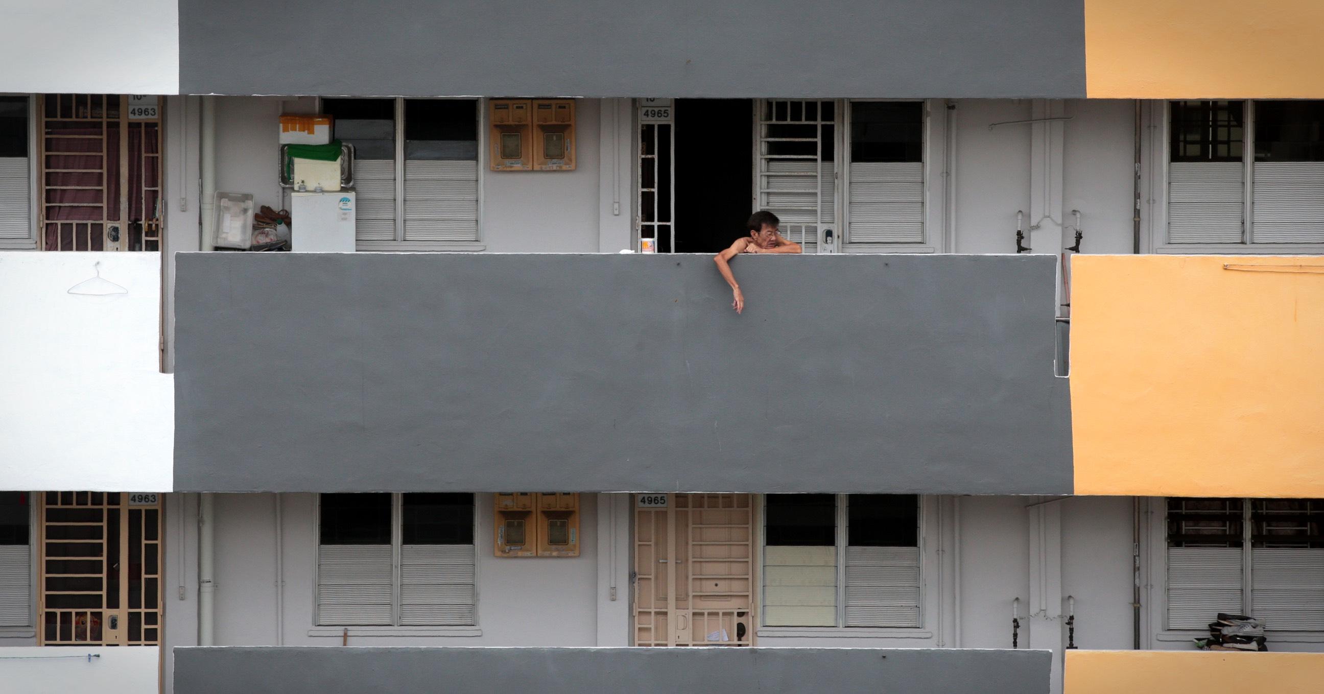 A two-room rental flat block along Ang Mo Kio Ave 6. — TODAY file photo