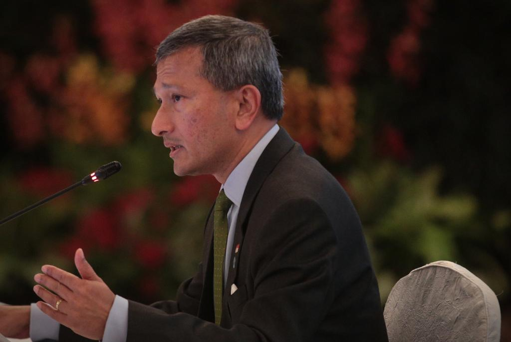 Singapore's Foreign Minister Vivian Balakrishnan is seen in this file picture. ― TODAY file pic