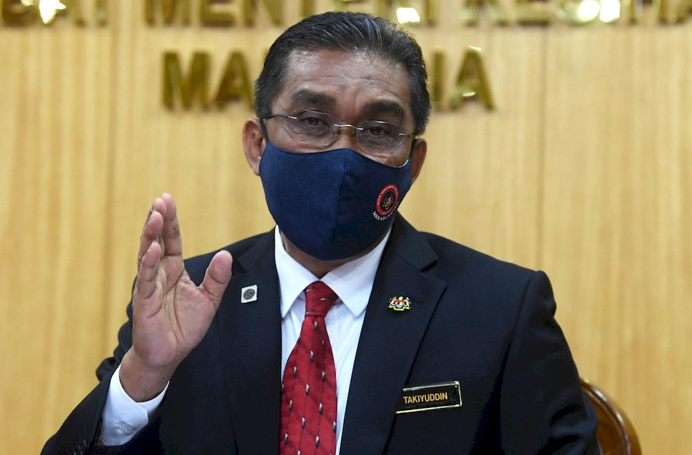 In a statement today, Datuk Seri Takiyuddin Hassan said the EC would undertake this immediately and stress that the Perikatan Nasional (PN) government was committed to implementing the initiative dubbed Undi18. ― Bernama pic