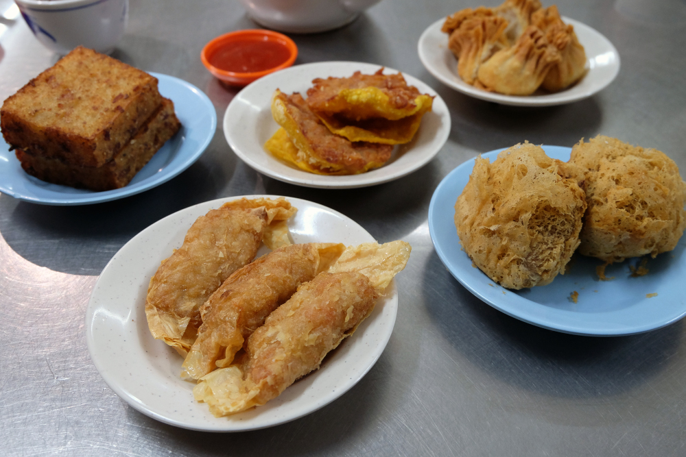 Fried dim-sum for those craving for the deep-fried stuff. — Picture by Steven Ooi KE