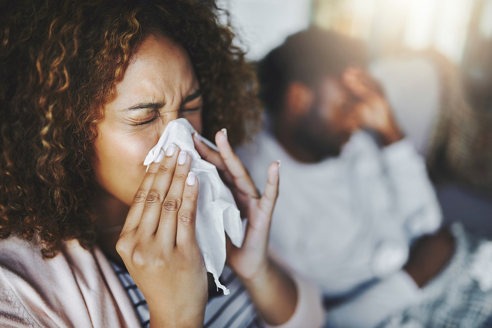 Allergies appear to be linked to psychological stress. ― istock.com/ETX Studio pic