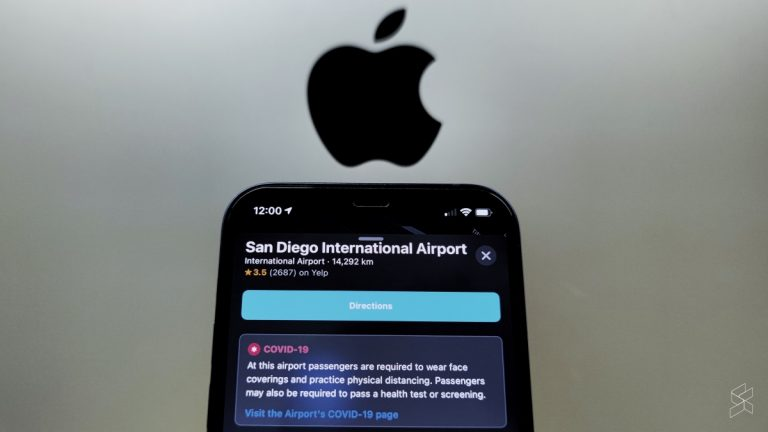 Apple has just released an update for Apple Maps, one that aims to give travellers a better idea on what to expect at airports around the world. ― SoyaCincau pic