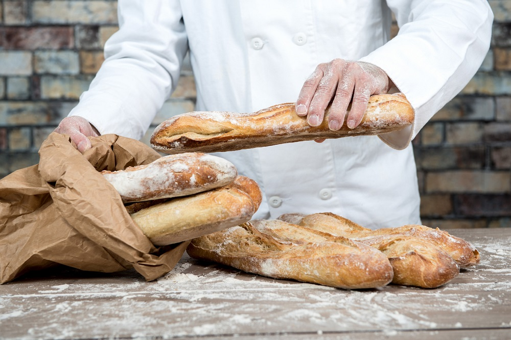 The baguette, despite being a seemingly immortal fixture in French life, only officially got its name in 1920 when a new law specified its minimum weight (80 grammes) and maximum length (40 centimetres). ― istock.com/ETX Studio pic