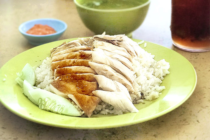 For some, a humble plate of chicken rice always tastes of home. — Pictures by CK Lim