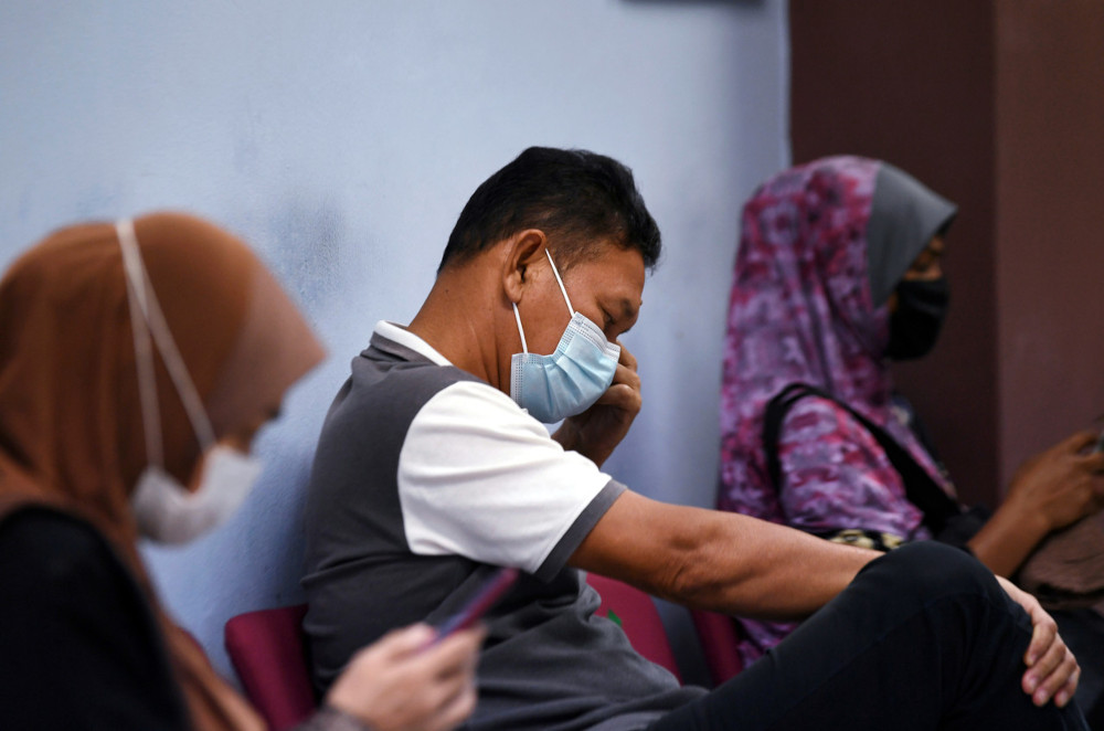 Abu Bakar Osman, 59, pleaded guilty to a charge of organising a wedding feast which he knew would likely to spread the infection of any disease dangerous to life, at a house in a housing estate in Mentakab here between 1pm and 2pm on February 13. — Bernama pic