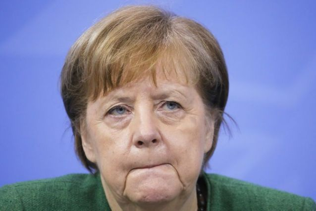 German Chancellor Angela Merkel's conservative party was in crisis mode after suffering heavy losses in two regional polls. — AFP file pic