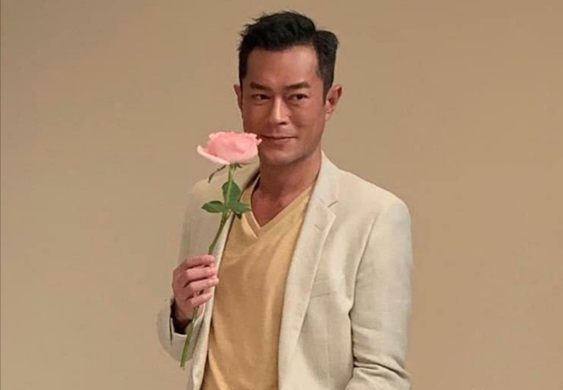 The philanthropy of Hong Kong actor Louis Koo has extended to building schools in China. — Picture via Facebook/Louis Koo