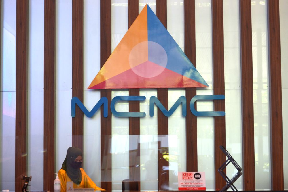 The Malaysian Communications and Multimedia Commission (MCMC) in a statement today said a report could be lodged at the nearest police station so that an investigation can be carried out. — Picture by Miera Zulyana