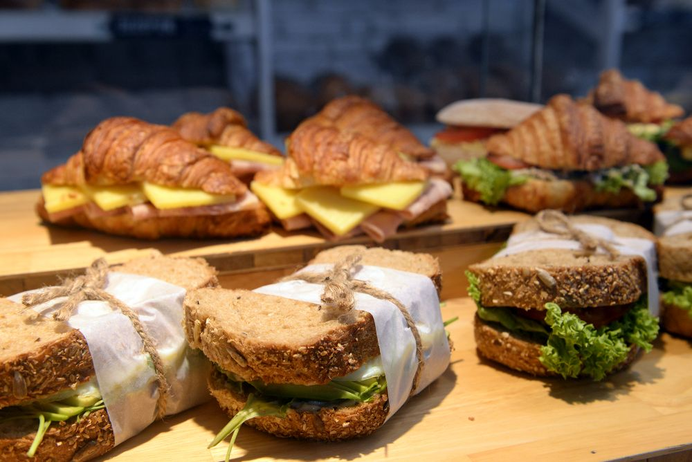 There are also various types of sandwiches to choose from at Mugshot.