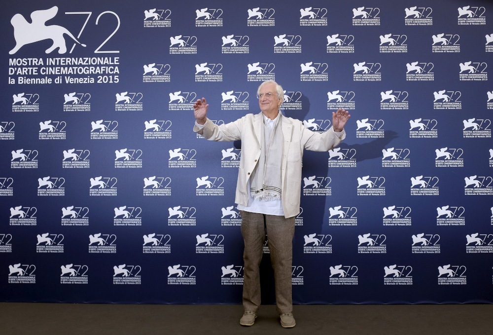 Director Bertrand Tavernier attends a photocall for Golden Lion for Lifetime Achievement 2015 during the 72nd Venice Film Festival in this file photo taken on September 8, 2015. — Reuters pic