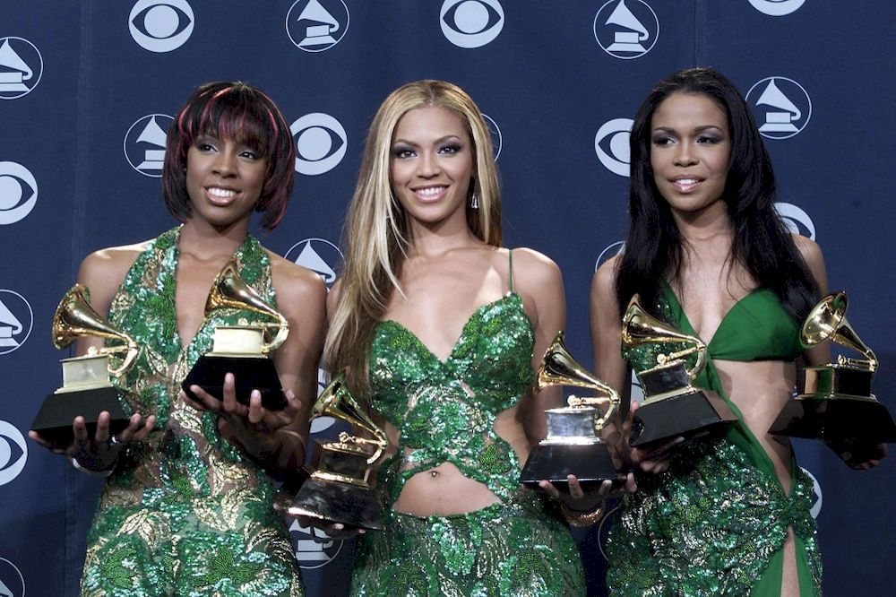 A dress that Michelle Williams (D) of Destiny's Child wore during the 2001 Grammy Awards will be offered for auction at Julien's Auction. — AFP pic