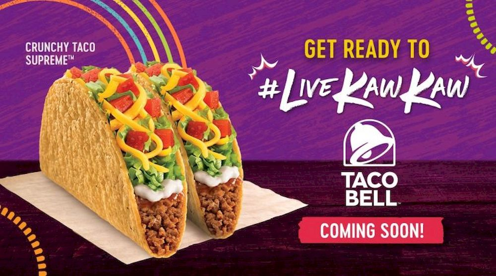 Taco Bell restaurant chain's first outlet in Malaysia will open at Cyberjaya. — Picture via soyacincau