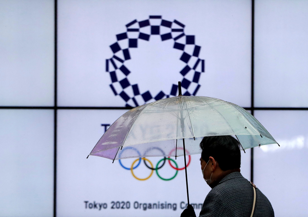本月杪即将开始圣火传递的东京奥运会,因为疫情之故导致很多预选赛面临取消或不确定能否举办的局面。-路透社-