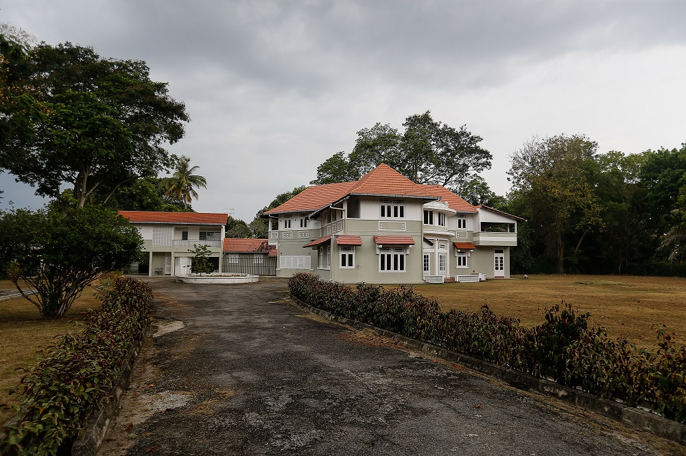 Malaysia's first prime minister Tunku Abdul Rahman's former residence in Pulau Tikus is now available on the market for RM62 million. ― Picture by Sayuti Zainudin