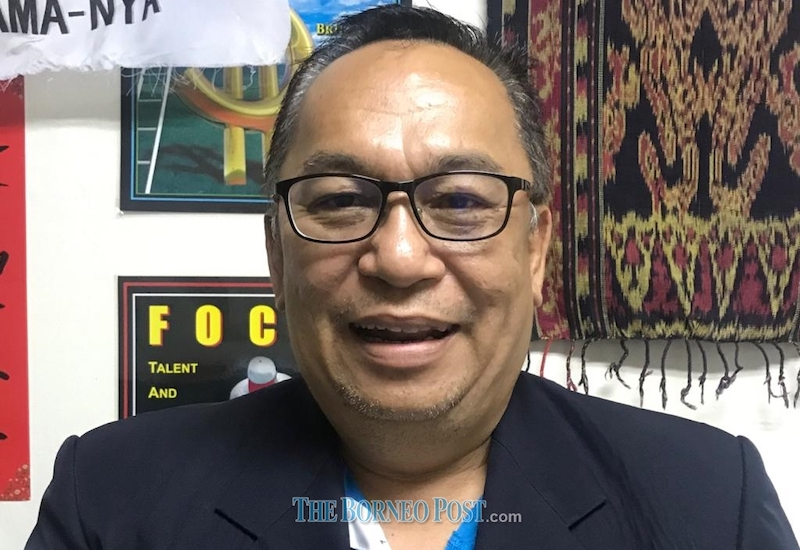 Parti Bansa Dayak Sarawak Baru president Bobby William. — Borneo Post Online pic